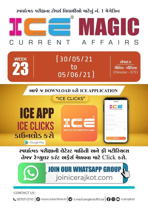 ICE MAGIC WEEK - 23(30-05-2021 to 05-06-2021)