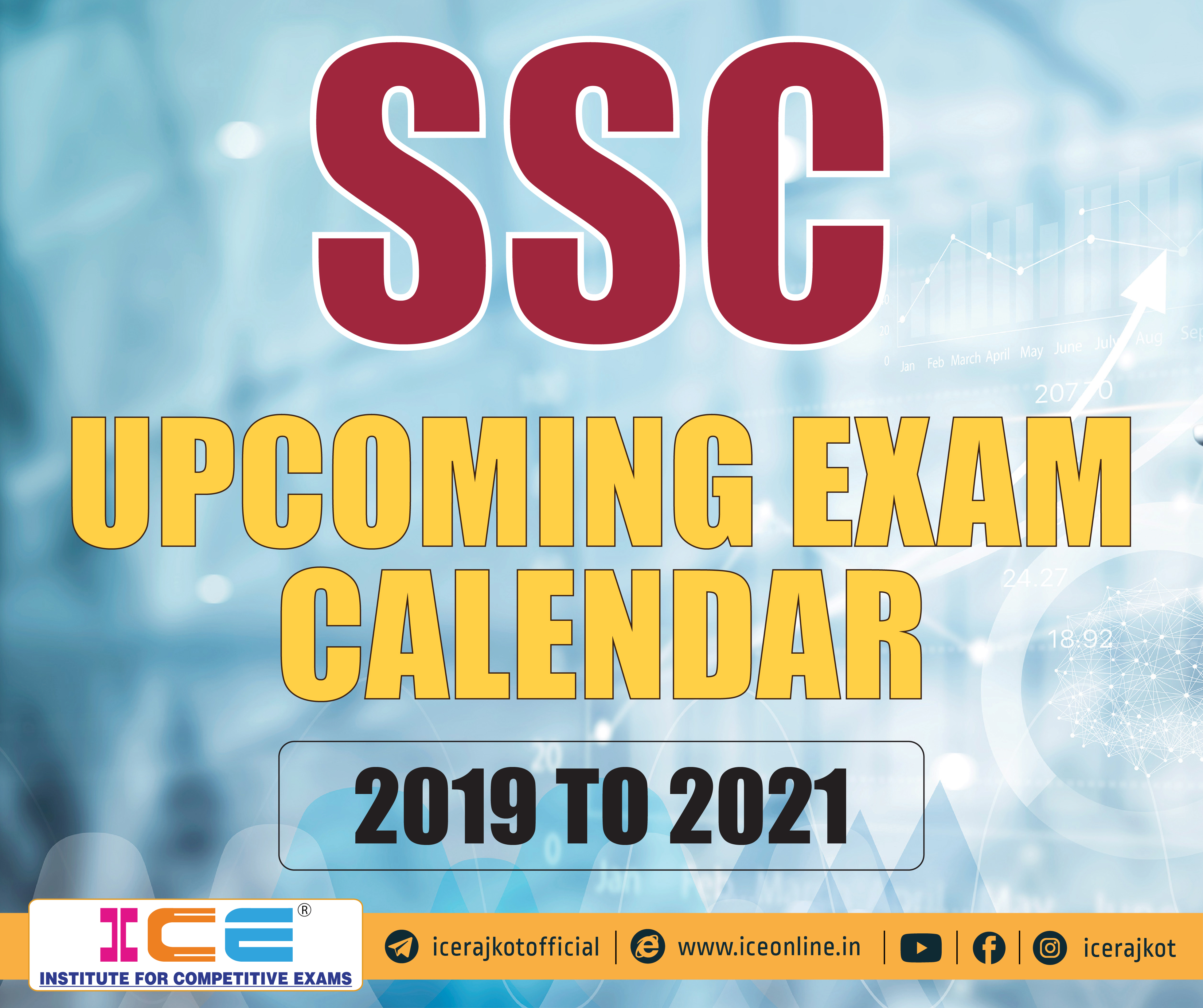 SSC Upcoming Exam Calendar For 2019 TO 2021