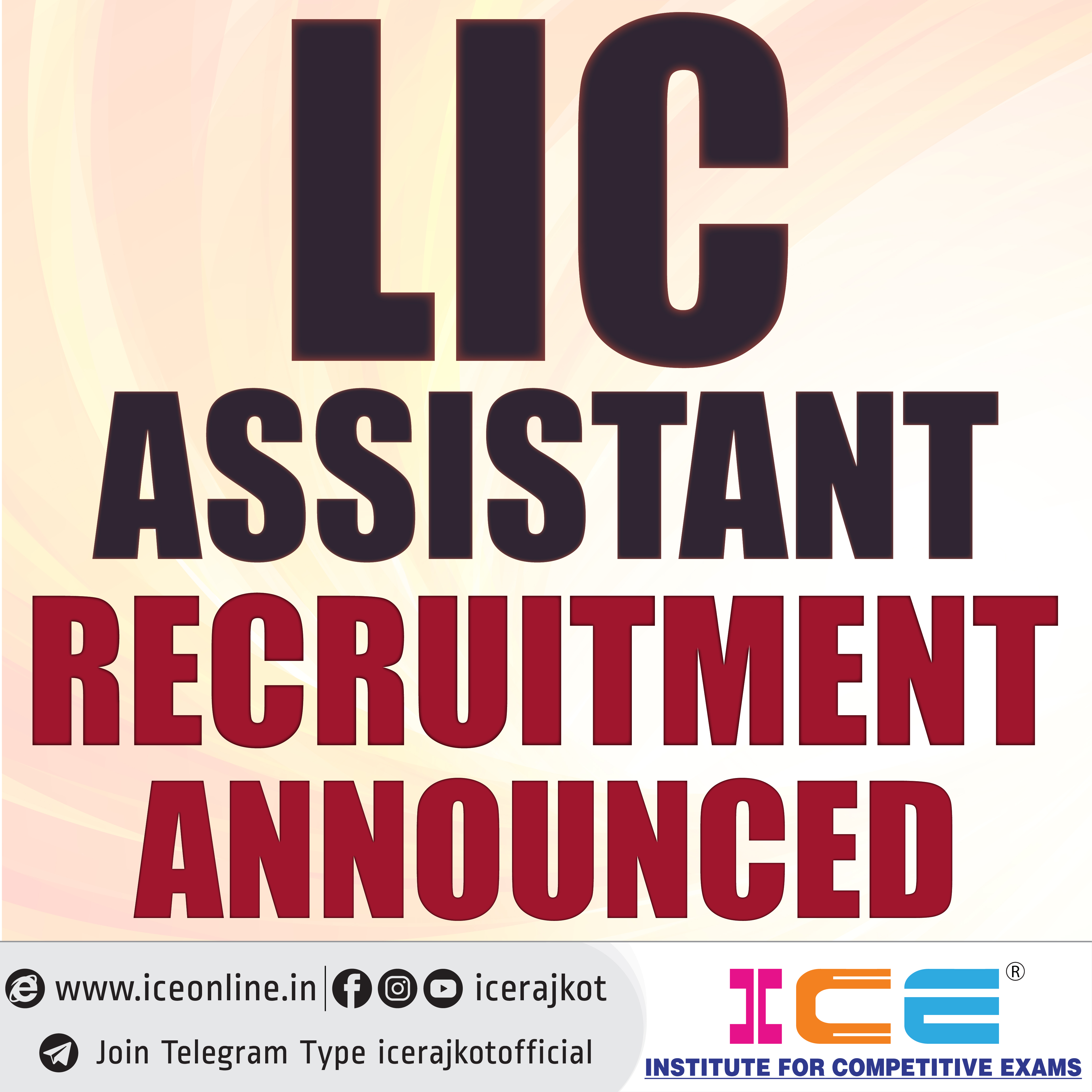 LIC Assistant Notification Out 2019