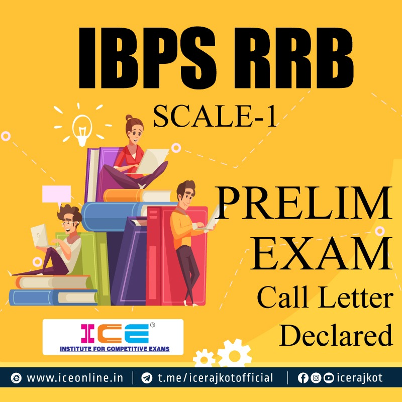 IBPS RRB SCALE-1 PRELIM EXAM CALL LETTER DECLARED
